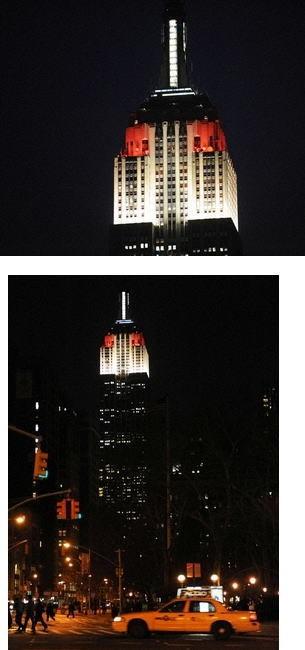 【パーフェクトウェディング宣言!】-世界の高層ビルが日の丸に