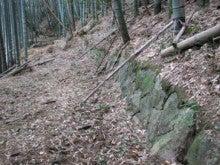 自然、戦跡、ときどき龍馬-船木峠西側の道