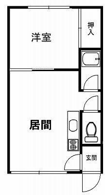 スクエア106間取