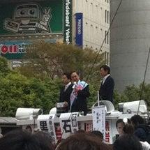 選挙演説 @ 横浜駅