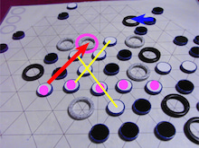 risaのボードゲームレポート-Yinsh 851
