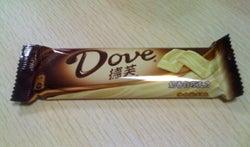 大連(中国)のWebデザイン会社で働く社長のブログ-中国のチョコレートDove(徳芙)ドーフゥ