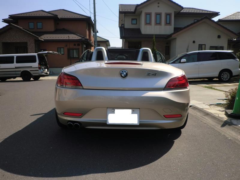 輸入車専門プレミアム納車システムTEAM MANOME宏樹先生の熱血ブログ!!-納車前のお客さんのBMW Z4 sDrive23i