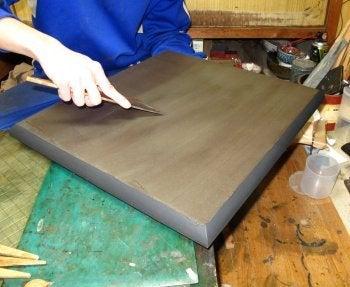 洛式 世界に1つの碁盤  京都発の最高の贅沢 -地錆付け