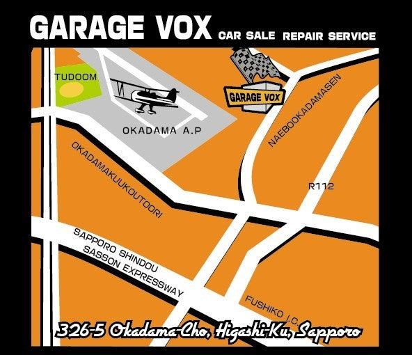 $GARAGE VOX 札幌のブログ