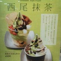 キハチの抹茶ソフト☆