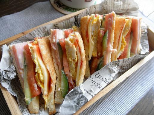 ハム&ピーマンの卵ご飯焼き(カレー風味)のレシピ:白ごはん.com