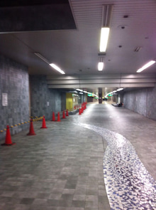 ちょんまげ通信-地下道