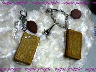 sugar purple~よっしぃのブログ~-クッキーサンドのチャーム