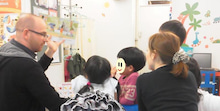 Apprez Academy Blog~アプレアカデミーのブログ-Easter party fundations reading