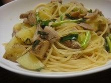 もぐらりすのキッチン-和風パスタ1
