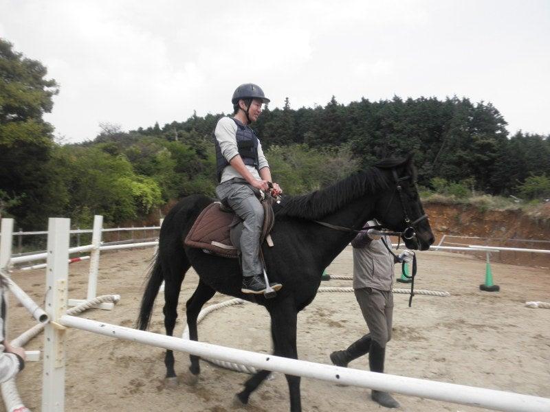 馬を愛する男のブログ Ebosikogen Horse Park-若いご主人
