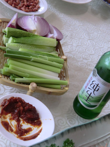 布ナプキンとエコ洗剤の「えころじ庵」-龍大野菜スティック味噌