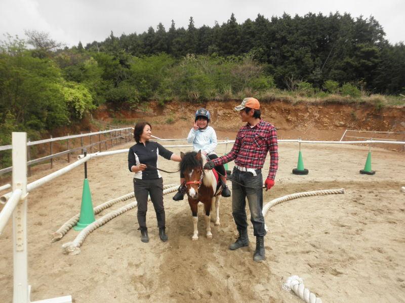 馬を愛する男のブログ Ebosikogen Horse Park-元気な女の子