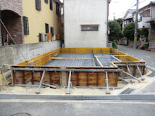 関西にローコストで素敵な家を建てる為のブログ-T3 33-A1 配筋全景