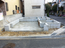 関西にローコストで素敵な家を建てる為のブログ-T3 33-A1 基礎全景