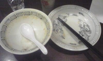 つけ麺 食べ歩き-竹治郎空き椀