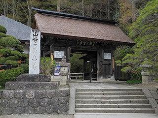 晴れのち曇り時々Ameブロ-山門(立石寺)