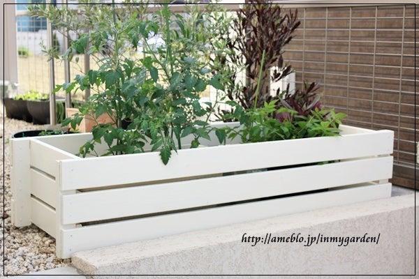 bloom in my garden-プランターカバー後