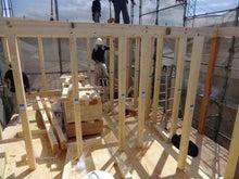 関西にローコストで素敵な家を建てる為のブログ-建て方05 R階梁
