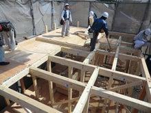 関西にローコストで素敵な家を建てる為のブログ-建て方06 R階床