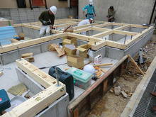 関西にローコストで素敵な家を建てる為のブログ-建て方01 土台