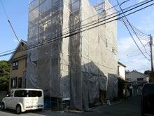 関西にローコストで素敵な家を建てる為のブログ-建て方09 全景