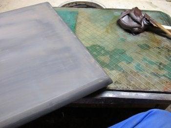 洛式 世界に1つの碁盤  京都発の最高の贅沢 -さび付け2