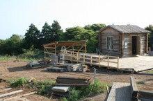 馬を愛する男のブログ Ebosikogen Horse Park-ピザ石窯屋根