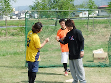 山形大学 西岡研究室の毎日♪-野球大会04