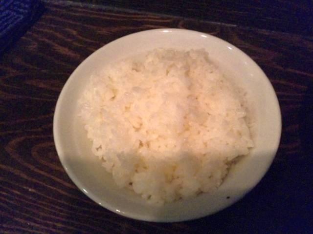 にゃほのラーメン日記(仮)-白飯(小)