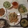 茄子と豚肉の味噌炒め…