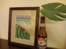 $Plumerium-ALOHA SURF GUIDEをつかったハワイアンアート