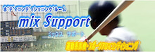 $体形(骨盤)調整・スポーツアロマ・ファイテンでパフォーマンスアップ!【mix Support】トレーナー日記-logo