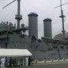 記念艦三笠復元50周年記念式典でした。の画像