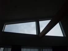THE 中島邸 ~分離発注で挑む建築日記~-最後の青空?