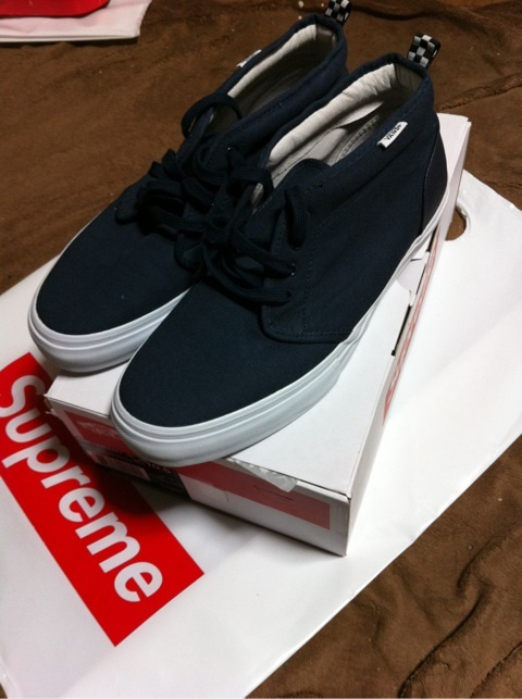 856068dae7 Supreme×vans Canvas Chukka 95