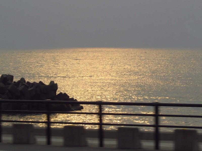 夕焼け日本海