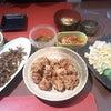 昨日の夕飯の画像
