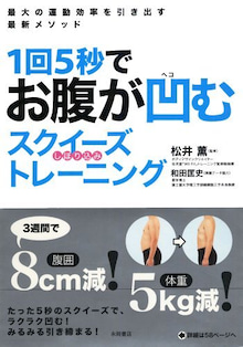 ◆「徹子の部屋」出演パーソナルトレーナーWiiFit監修:松井薫◆-お腹が凹むスクイーズトレーニング.jpg