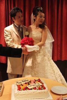ai1hallのブログ-ケーキ入刀
