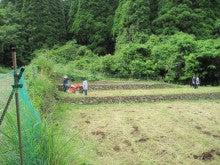 農トレ in 棚田【農業を好きになろう】-耕耘