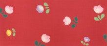 $きもの菱屋 ブログ 「店主の日々」-半巾帯 「ちゅうりっぷ」