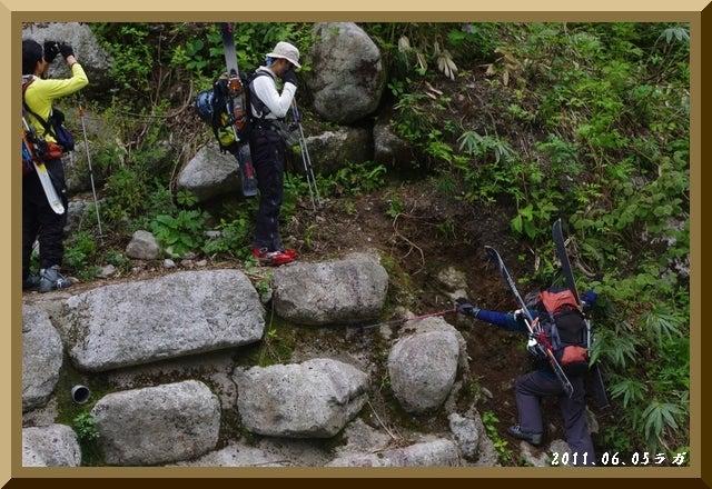 ロフトで綴る山と山スキー-IMGP3395