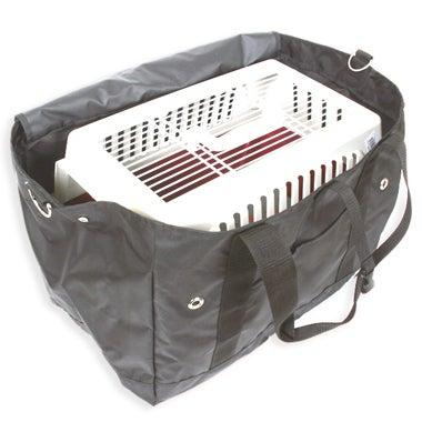 ペットグッズブランド【L・I・P(リップ)】開発者日記-移動用キャリーがすっぽり収まる便利なバッグ001