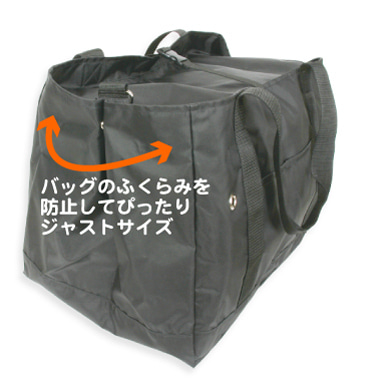 ペットグッズブランド【L・I・P(リップ)】開発者日記-移動用キャリーがすっぽり収まる便利なバッグ003