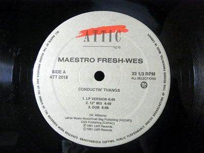 $Keep Diggin'-Maestro Fresh Wes - Conductin' Thangs