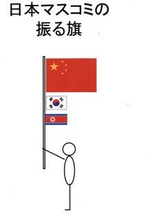 $日本人の進路-日本マスコミの振る旗