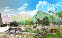 CGイラスト図鑑-春夏の動物