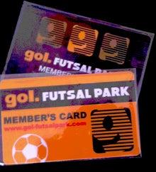 golFUTSALPARKSTAFFのブログ-メンバーカード
